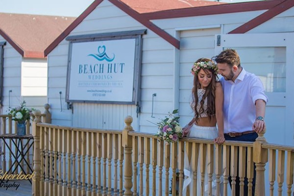 Beach Hut Weddings 1